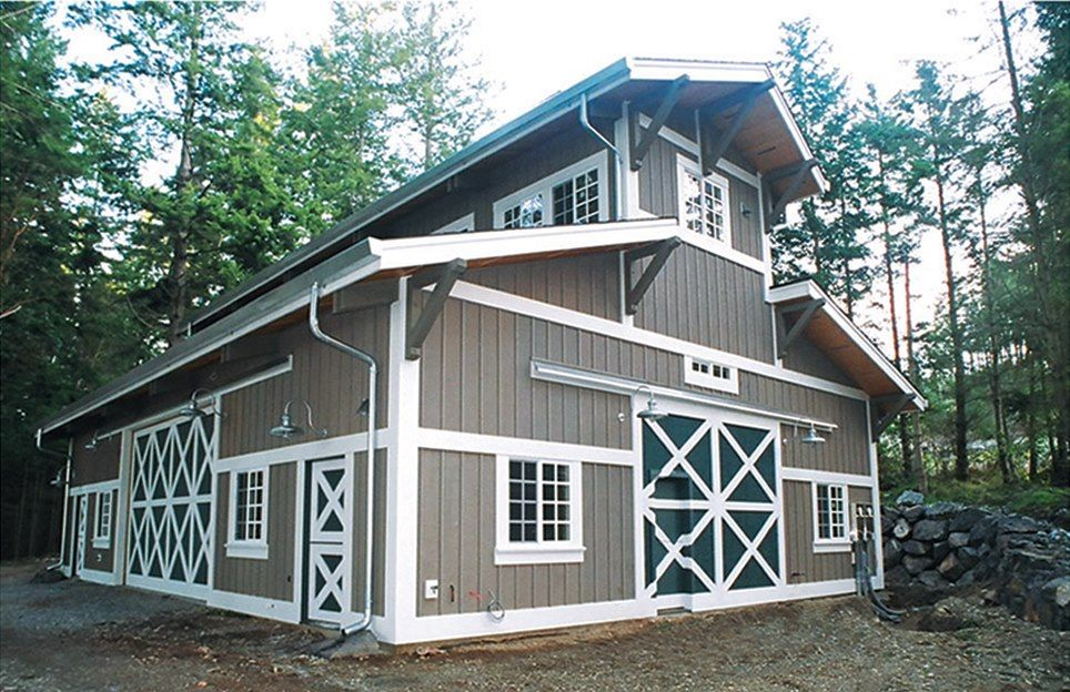 Building Post Frame Building : The green building post frame texwin barns